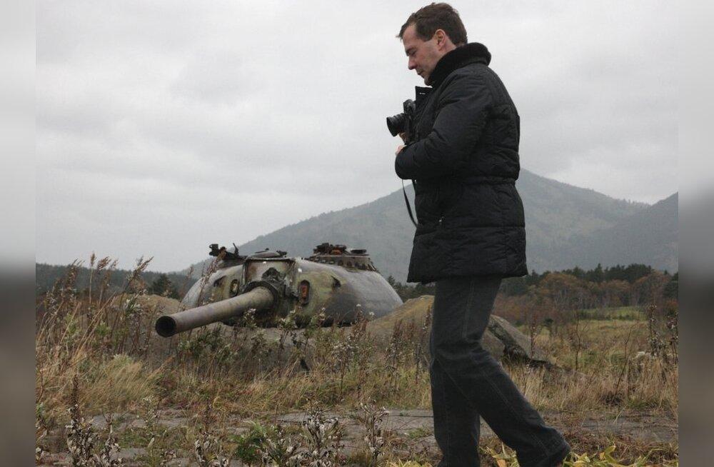 Jaapani peaminister: Medvedevi visiit Kuriilidele on andestamatu solvang