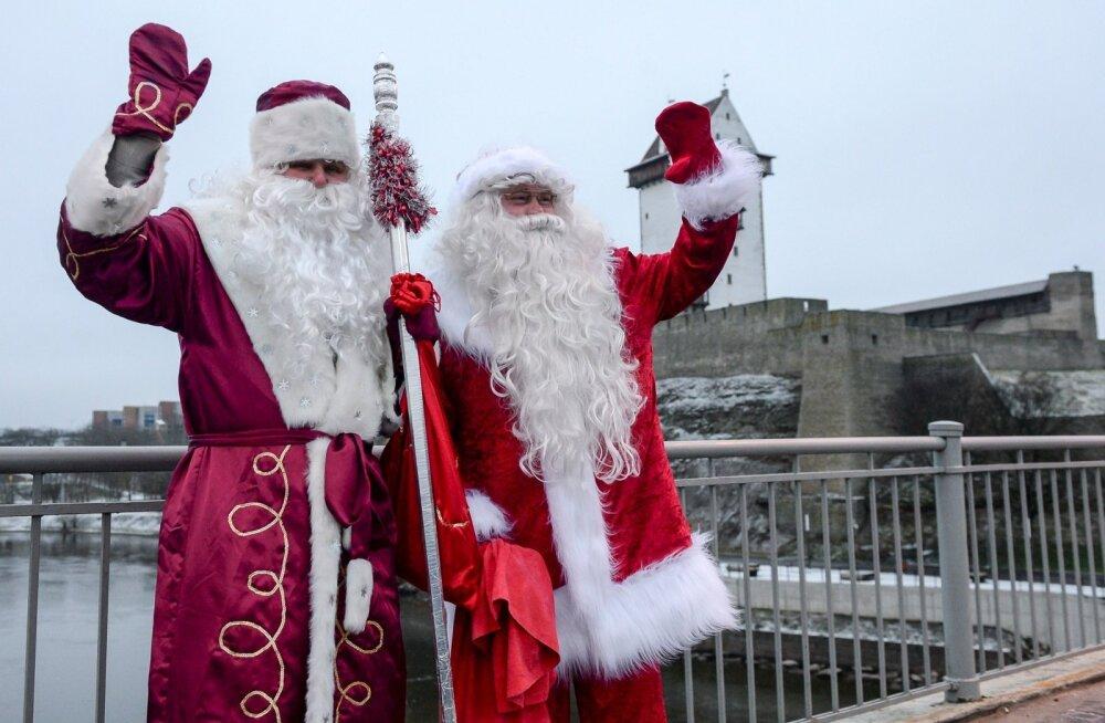 Новогодний тест: сможете ли вы отличить Деда Мороза от Санта Клауса?