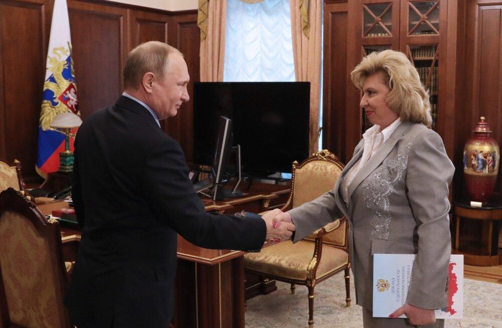Putin lubas rääkida Tšetšeenia homode õigustest peaprokuröri ja siseministriga