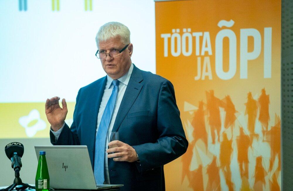 Töötukassa juhatuse esimees Meelis Paavel.