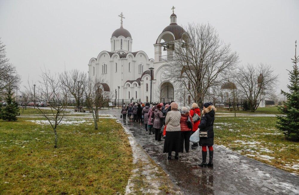 Püha vesi Lasnamäe kirikust