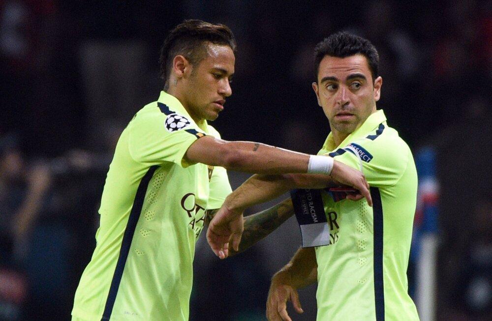 Neymar teatas tiimikaaslastele Barcelonast lahkumisest Messi pulmas