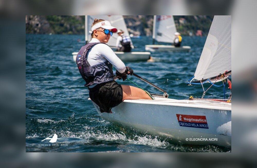 Eesti purjetaja tuli Itaalias maailmameistriks