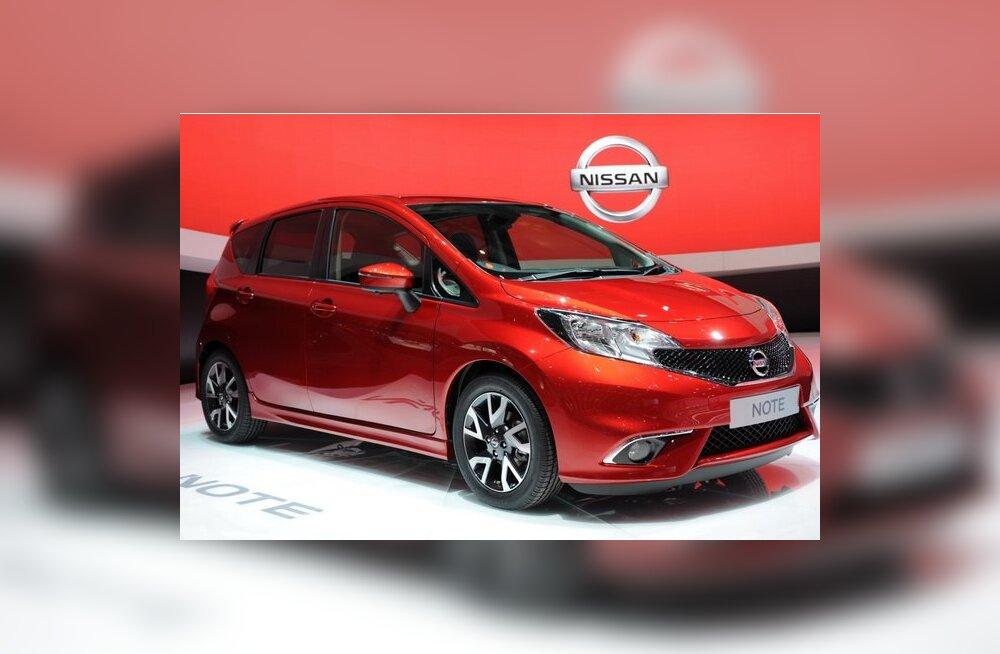 Genf 2013: teise põlvkonna Nissan Note eurooplastele