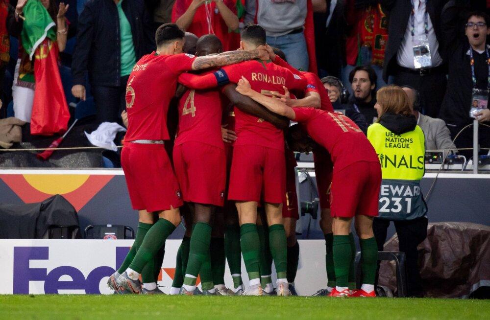 Rahvuste liiga ajaloo esimese tiitli võitis kodupubliku rõõmuks Portugal