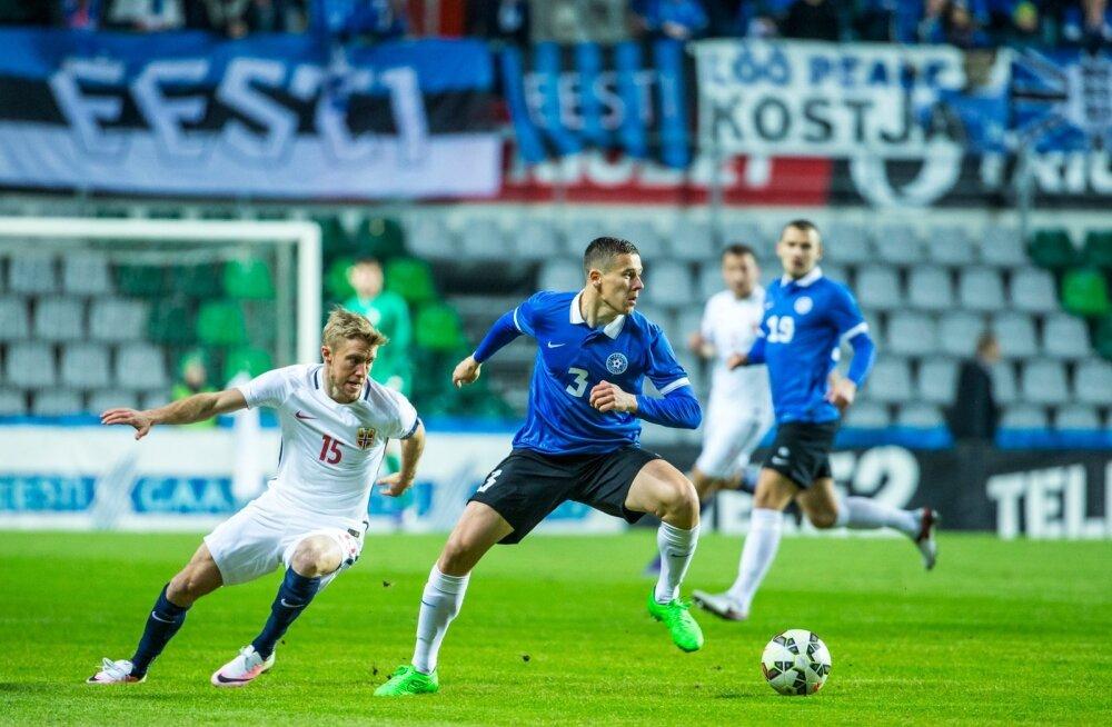 Artur Pikk Eesti koondise särgis