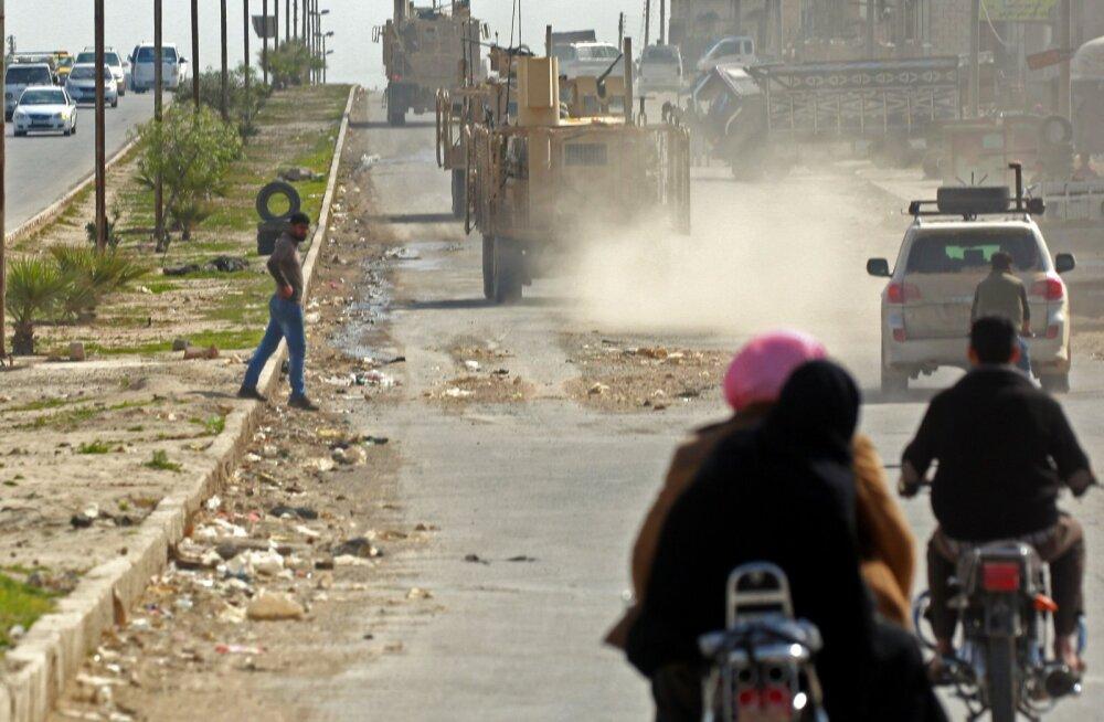 USA tõmbab Türgi eelseisva rünnaku tõttu väed Süüriast välja