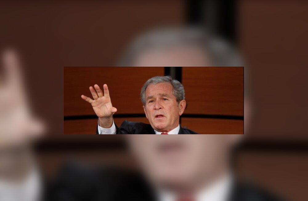 """Bush kahetseb """"luure ebaõnnestumist"""" Iraagis"""