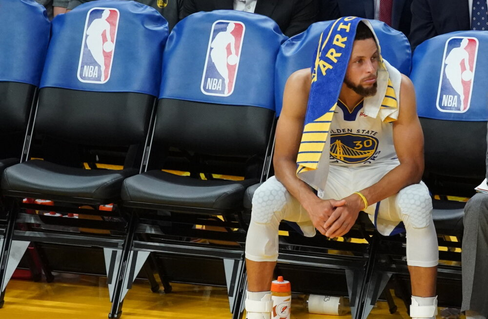Pettunud Stephen Curry