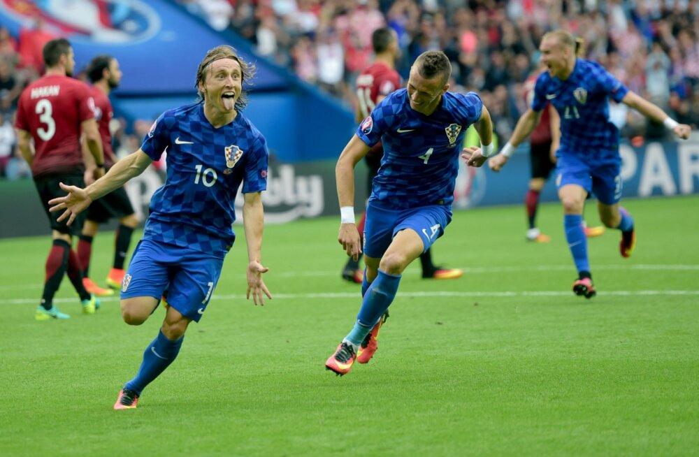Luka Modric lõi 1:0