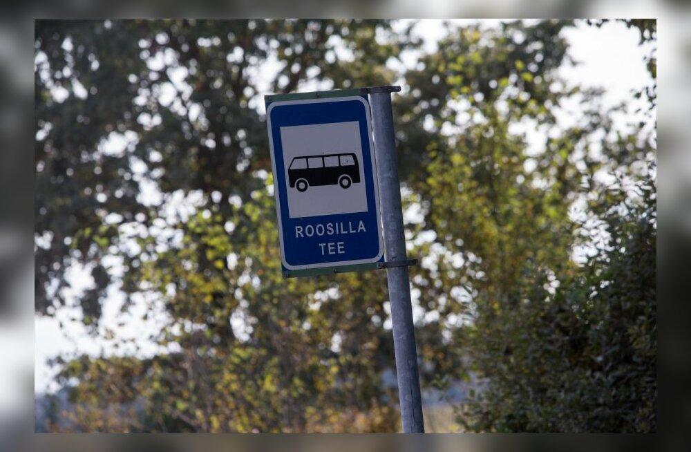 Bussihäda ajab maal üle ääre, autot omava naabriga peab häid suhteid hoidma