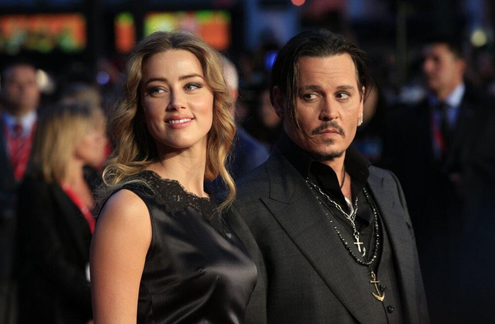 Johnny Depp keeldus endise abikaasa nõudest esitada kohtus oma arreteerimiste dokumendid