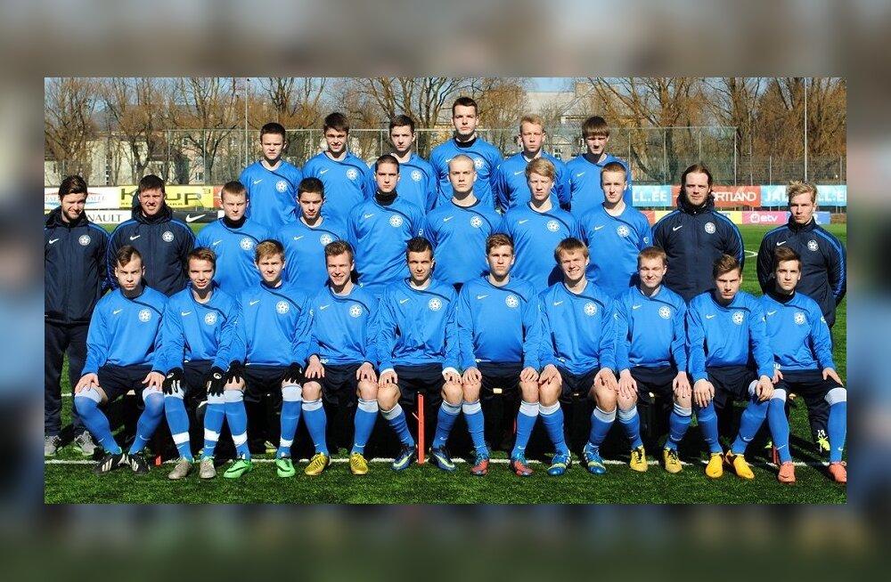 Eesti U18 jalgpallikoondis