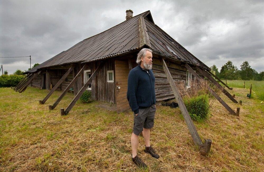 Muinsuskaitses pettunud Vana-Liivimaa vanima rehielamu omanik hakkas kodanikuallumatust väljendades talu remontima