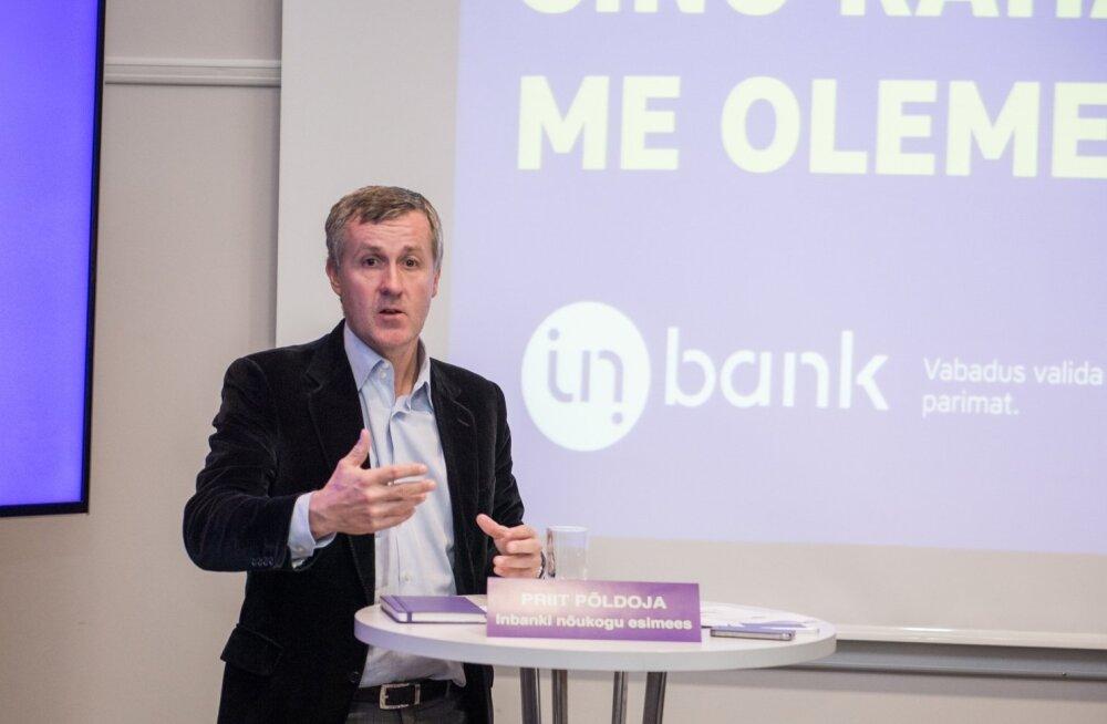 Inbanki nõukogu esimees Priit Põldoja.