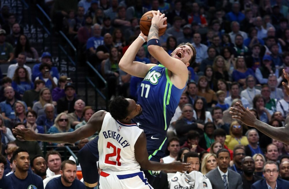 VIDEO | NBA tiitlinõudleja hoidis Doncici ja Mavericksi vaos