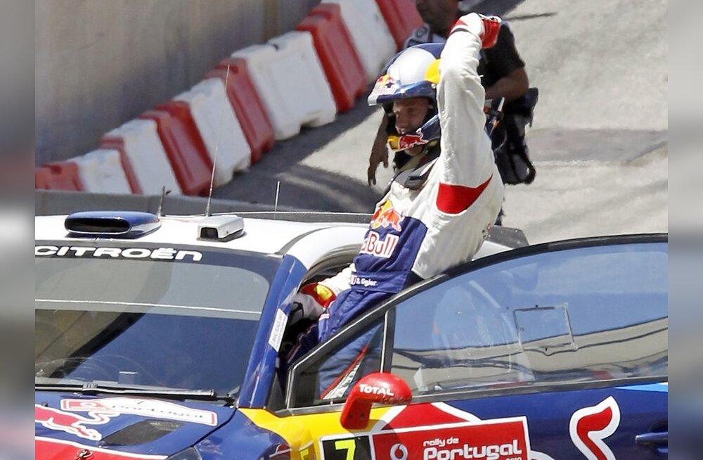 Sebastien Ogier tõusis pingelise Jaapani ralli võitjaks