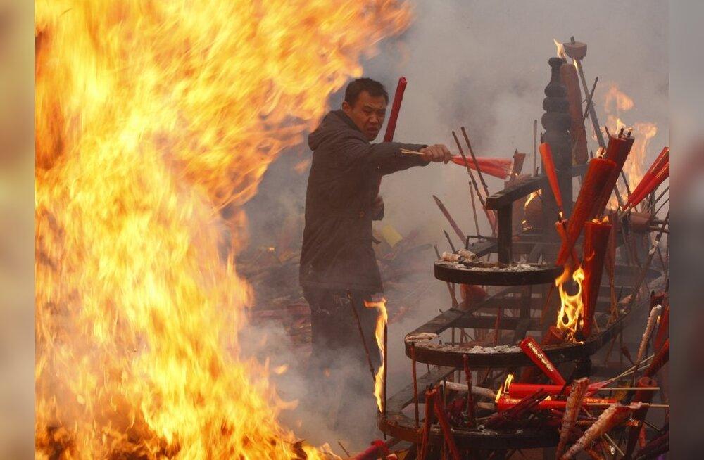 Pekingi uusaastapidustused lõppesid tragöödiaga