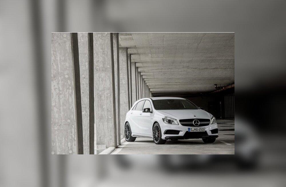 Mercedes-Benz A45 AMG sai 360 hobujõudu