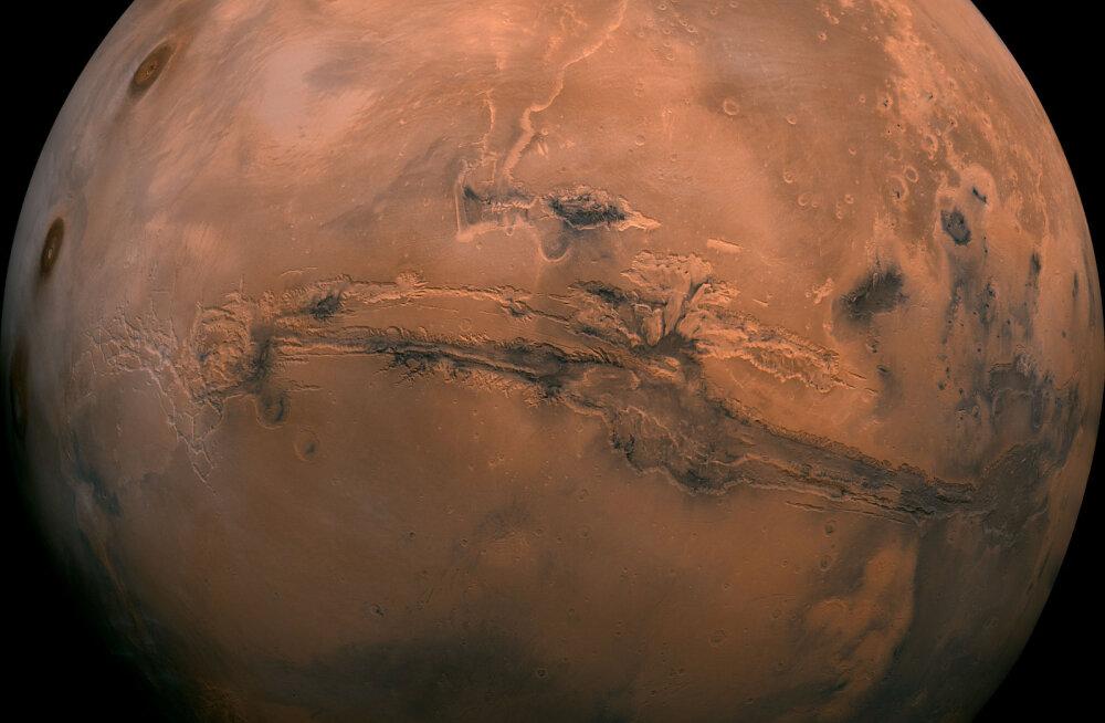 Marsil leiduva hapnikuga on seletamatud lood