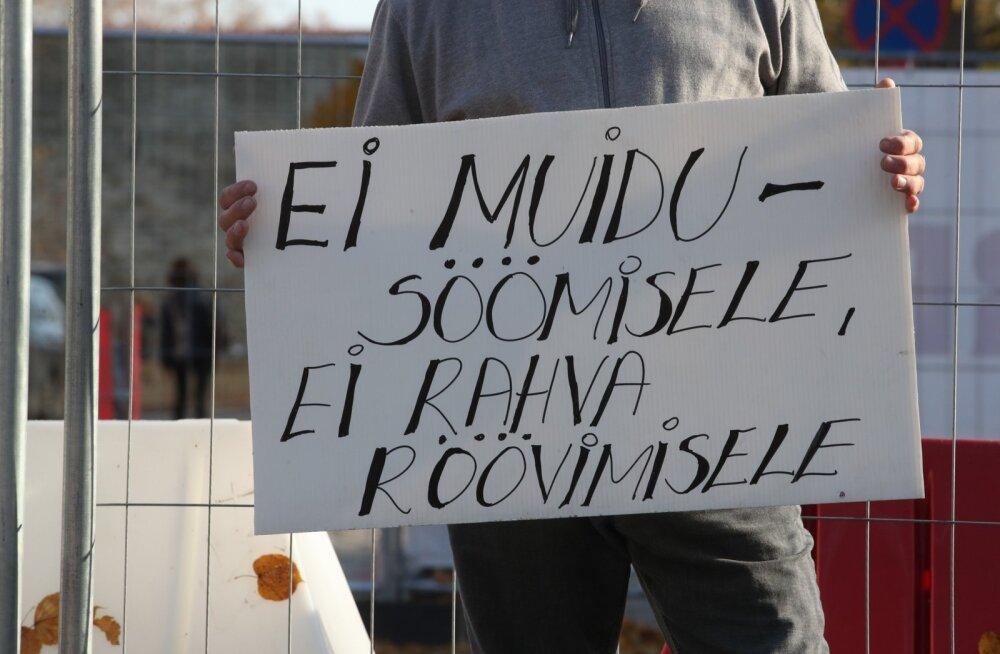Maksud paika! protestiaktsioon Toompeal