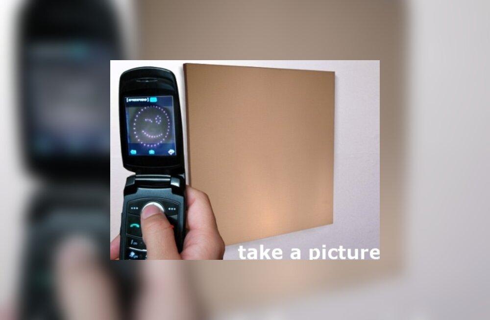 Tee pilti! Aga millest?