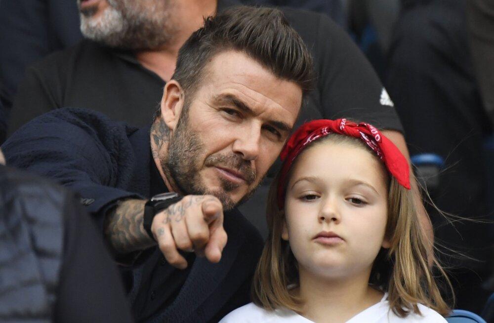 KLÕPS | Helde perekond! Beckhamid tegid taaskord eestlastele tasuta reklaami