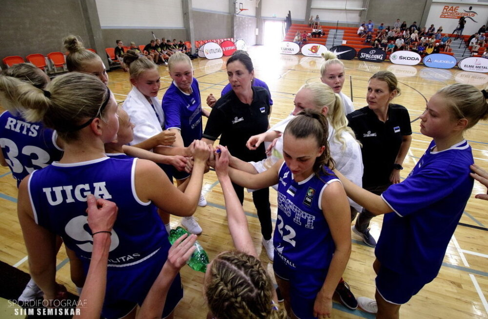 Naiste korvpallikoondis alustab EM-valiksarja, esimeses kohtumises minnakse täispangale