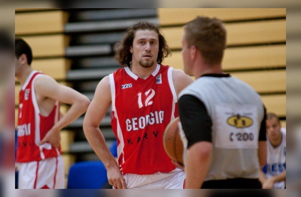 U20 korvpall Eesti - Gruusia
