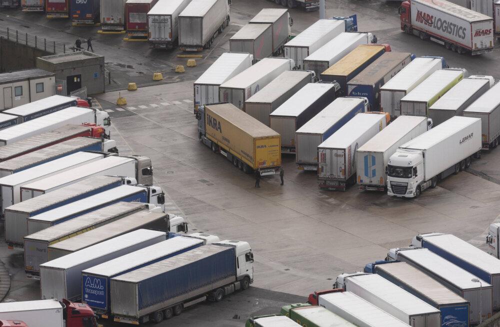 Suurbritannia ja Prantsusmaa vaheline liiklus taastub peamiselt kaubavedudeks