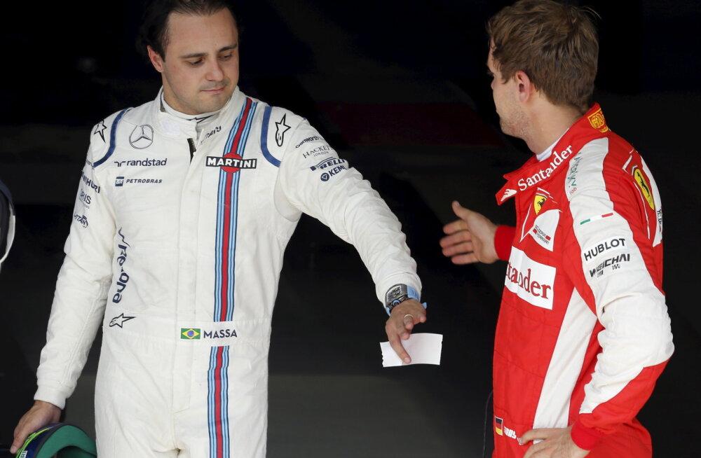 Endine Ferrari vormeliäss: Sebastian Vetteli aeg on läbi