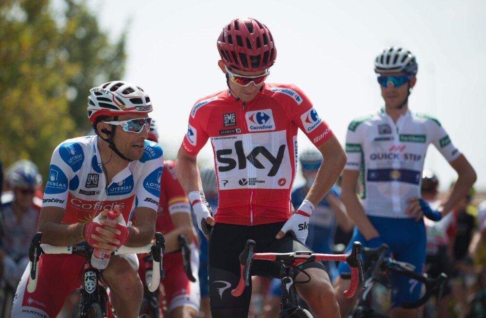 Vuelta velotuuri neljanda etapi võitis ameeriklane Benjamin King, üldliidrina jätkab Michal Kwiatkowski