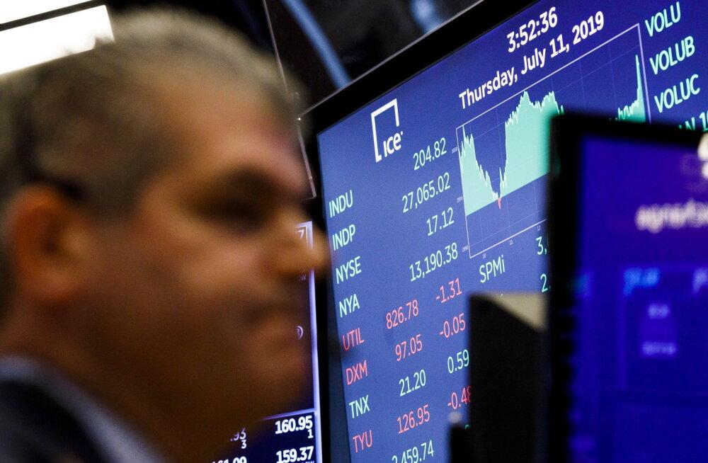 Tallinna börsi ähvardab ettevõtete uputus