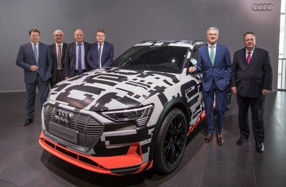 Audi endised tippjuhid eitavad diisliskandaalis osalemist