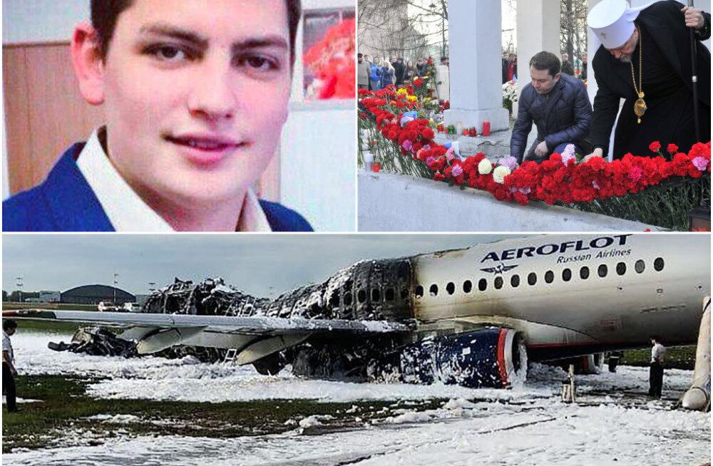 Moskva lennukatastroofis hukkunud stjuuard Maksim jõudis enne surma tüdruksõbrale SMSi saata: ma armastan sind!