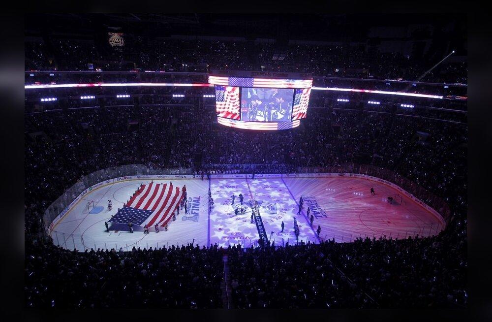 Jäähoki, NHL, Los Angelesi Staples Center areen