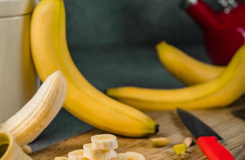 Armastad banaani süüa? Siin on põhjus, miks peaksid lisama oma menüüsse ka banaanikoore
