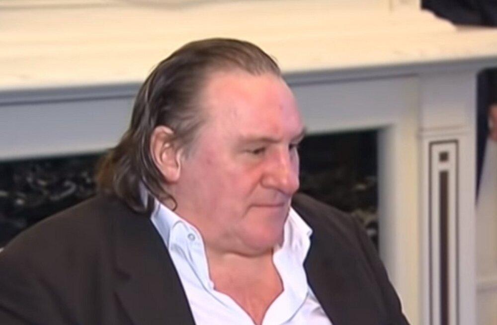 Жерар Депардье опять попался пьяным за рулем