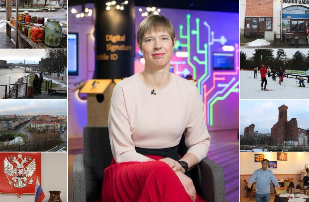 Mida peaks president Narvas peale hakkama? Proua Kaljulaid, lubage anda teile pisut head nõu