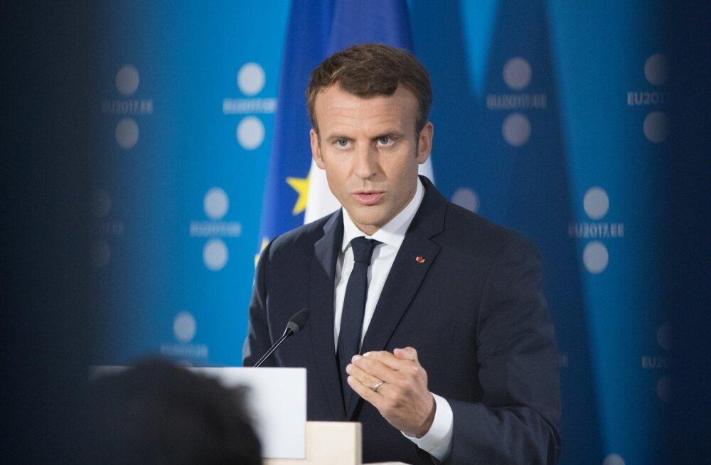 Emmanuel Macroni pressikonverents