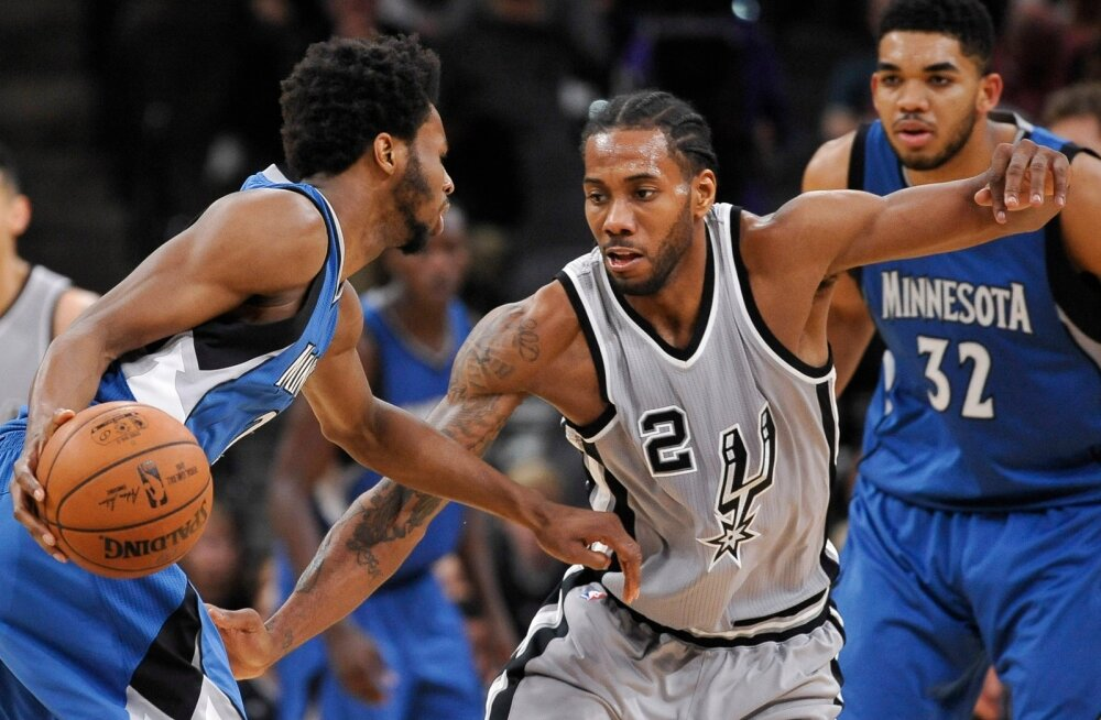 Timberwolves Spurs Basketball