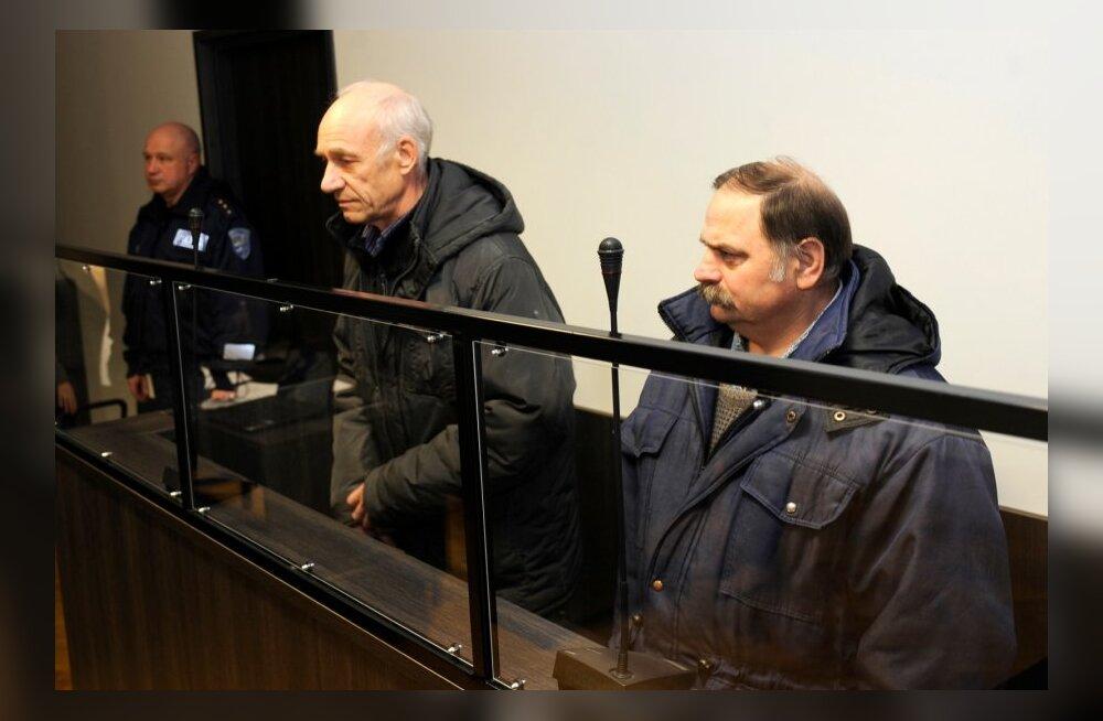 endise KGB ohvitserid Jõhvi kohtus