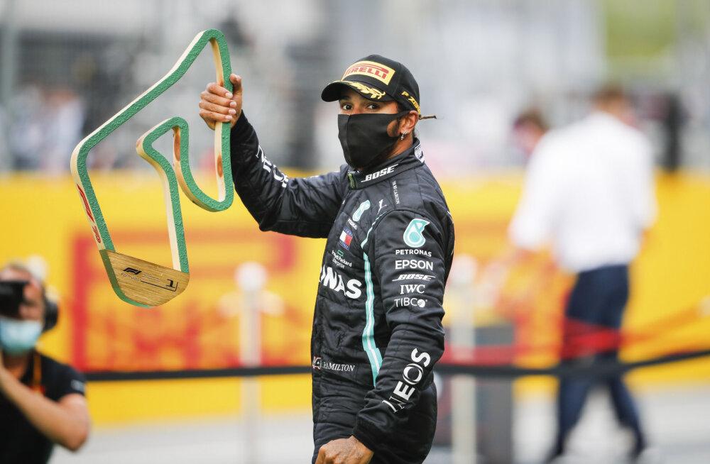 Lewis Hamilton kritiseeris kolleege eesotsas Ferrariga: ma pole neilt sõnagi kuulnud