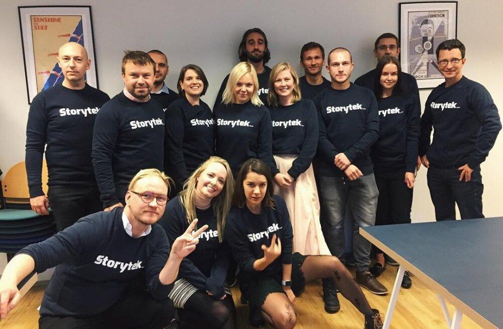 Delfi alustab koostööd meedia- ja meelahutustööstuse inkubaatoriga Storytek