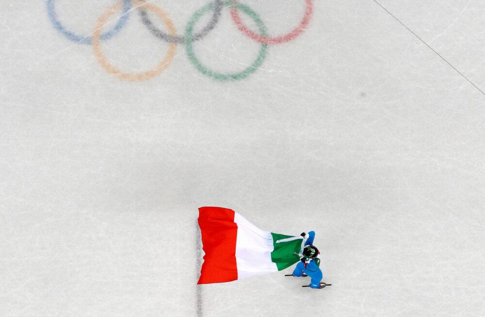 Itaaliat ähvardas Venemaa saatus, kuid itaallased saavad ilmselt riigi lipu all Tokyos võistelda