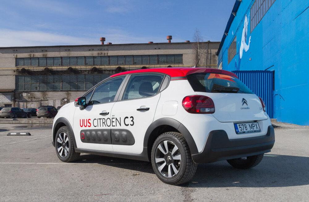 Motorsi proovisõit: Citroën C3 - et te võiks müksata näiteks kõrval seisvat autot