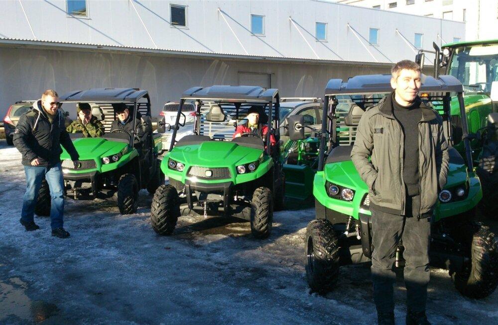 Kaitseliidu uued töösõidukid UTV-d John Deere Gator XUV550