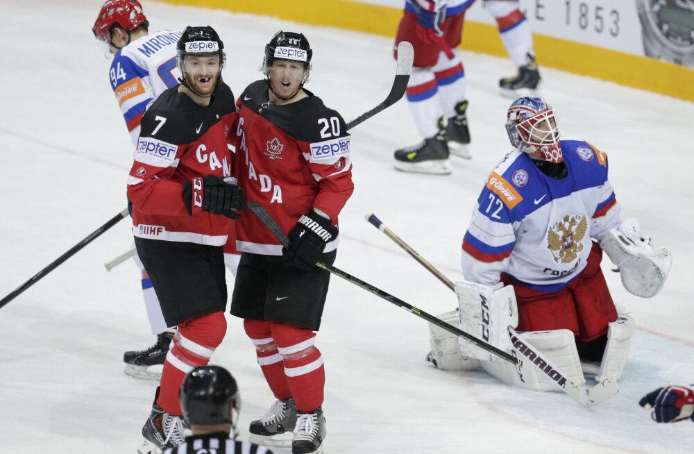 Kanada juubeldab, Venemaa on löödud