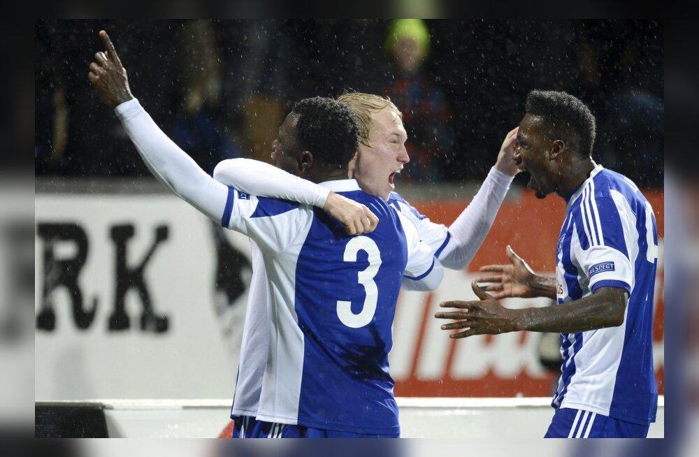 HJK avas Euroopa liigas võiduarve, Legia kindlustas edasipääsu