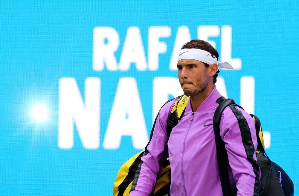 VIDEO | Rafael Nadal päästis noore autogrammiküti ohtlikust olukorrast